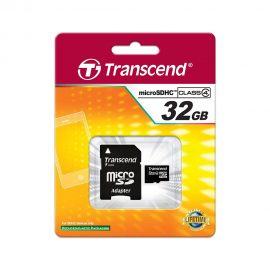 32GB Transcend Micro SD Card Class4