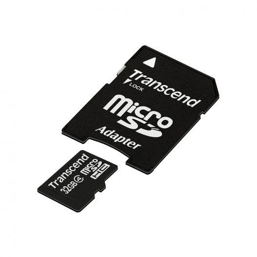 32GB Transcend Micro SD Card Class4