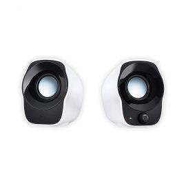 Alto-falantes estéreo Logitech Z120, alimentados por USB