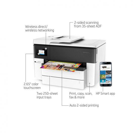 Impressora All-in-One HP OfficeJet Pro 7740 Wireless