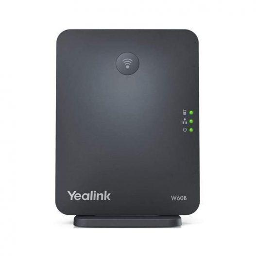 Telefone IP DECT sem fio Yealink W60P visor colorido