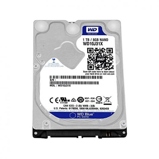 WD Blue 1TB 7MM SATA600 2.5 5.4K HDD