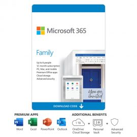 microsoft 365 family office word excel nampula maputo mocambique licenca