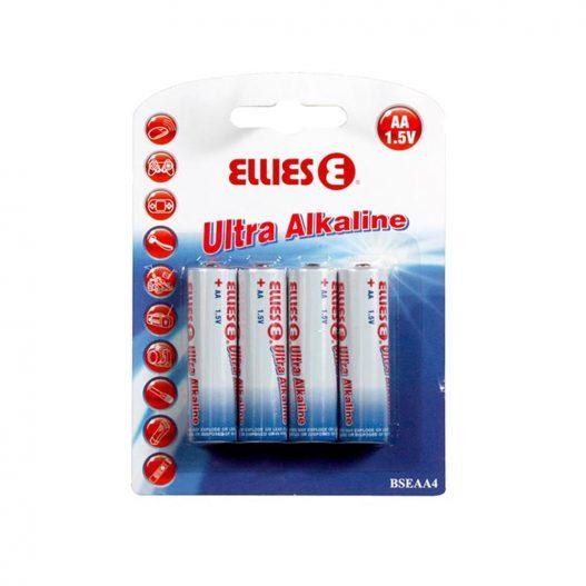 Bateria Ellies Ultra Alcalina AA (4 unidades) 1,5 V 10 - caixa
