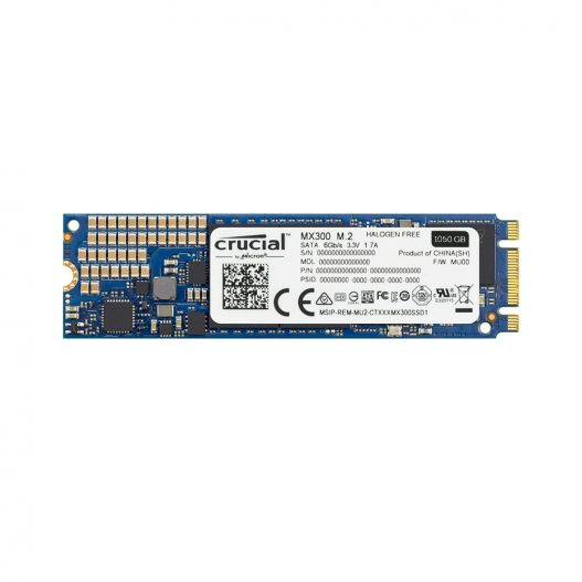 Crucial MX300 1TB 3D NAND SATA M.2 (2280) SSD interno