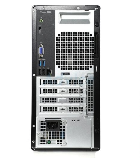 Dell Vostro 3000 Series 3888 Tower Business Desktop Computer, 10th Gen Intel Core i5-10400 6-Core Processor, 16GB DDR4 RAM, 1TB Hard Disk Drive, DVD, HDMI, VGA, WiFi, Windows 10 Pro, Black