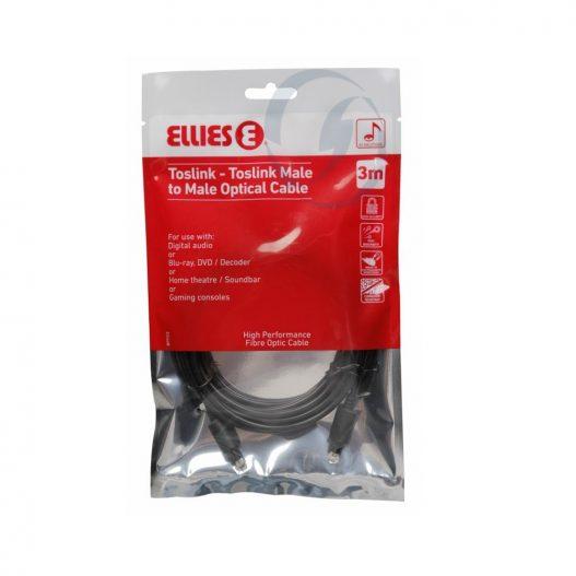 Ellies Toslink Optical Patchcord 3Meter