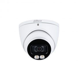 HAC-HDW1409T(-A)-LED ​ 4MP Full-color Starlight HDCVI Eyeball Camera