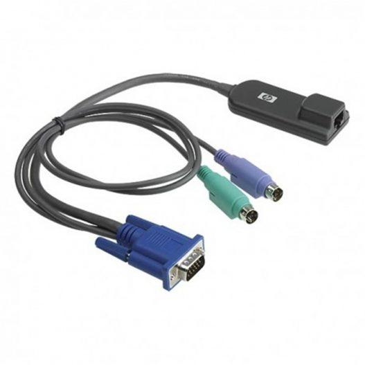HPE 262587-B21 KVM CAT5 8-pack PS2 Interface Adpt nampula silvermoz