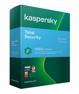 Kaspersky Total Security 2021 1 Ano