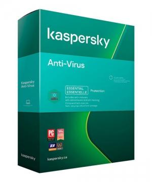 Kaspersky Anti-Virus 2021 1 Ano