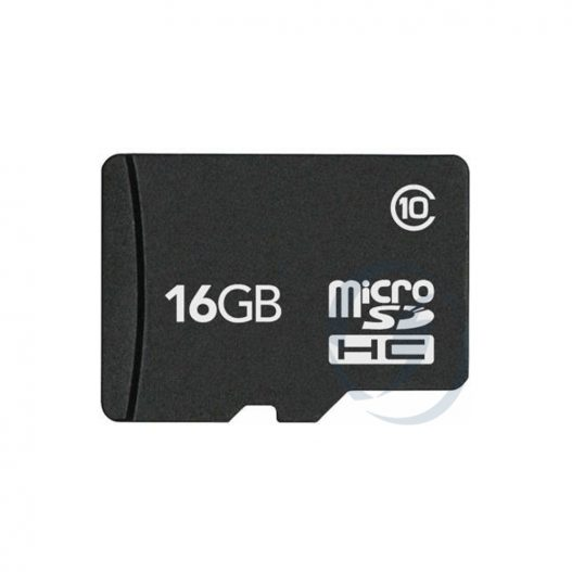 SanDisk 16GB Micro SDHC com adaptador SD