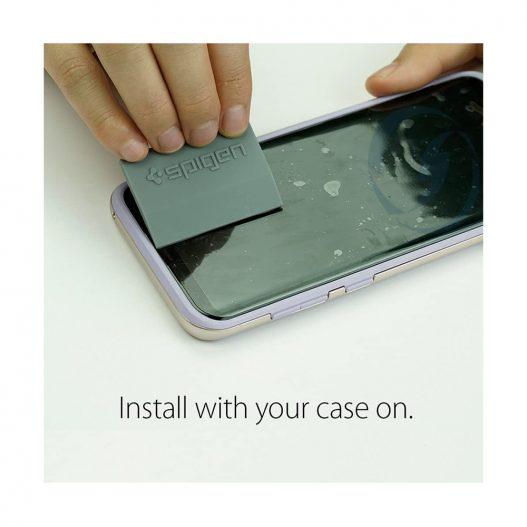Spigen Galaxy S8 Screen Protector Neo Flex HD crystal clear