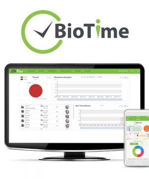 BioTime 8.0 – Software de gerenciamento de tempo e presença