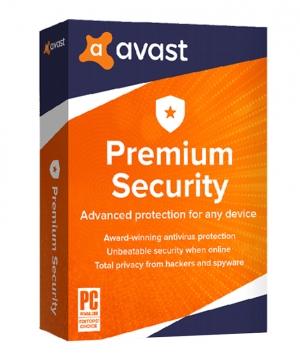 Avast Premium Security 1 – Ano Licença Digital