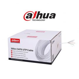 dahua cat6 full copper cobre cabo rede network cctv nampula maputo mocambique