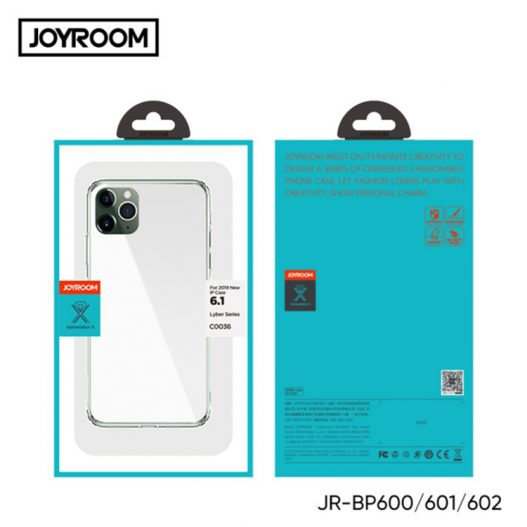 Capa transparente de silicone para APPLE IPHONE 11 JOYROOM JR-BP601 silvermoz nampula