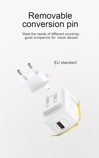 Charger carregador JOYROOM - L-A12S - 12W Single port travel charger (EU) nampula 3