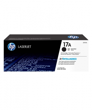 HP 17A Black Laserjet Toner Cartdridge