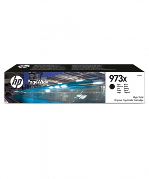 HP 973X High Yield Black Original PageWide Cartridge