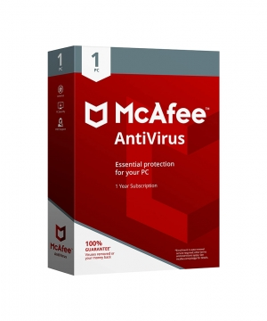 McAfee Internet Security – 1 ano