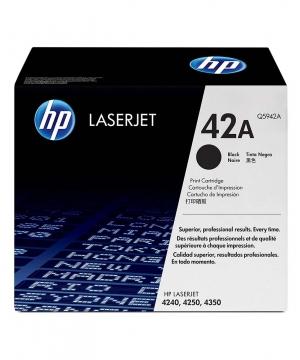 Toner HP LaserJet Q5942A Black Print Cartridge