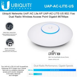 Ubiquiti Networks UniFi AC Lite AP UAP-AC-LITE-US 802.11ac Dual Radio Wireless nampula mocambique maputo silvermoz pemba quelimane