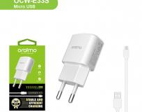 Oraimo Carregador USB 5V 1.2A + Cabo Micro-USB