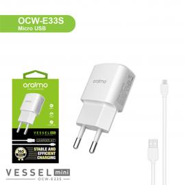 Charger-OCW-E33S-Micro oraimo carregador e cabo micro usb nampula