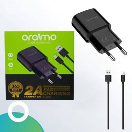 Oraimo Fast Charger With Fast Cable (CU-60ARC) - Type C android cabo qualidade nampula