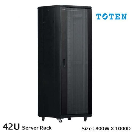 toten_professional-equipment-rack-cabinet-enclosure-42u-19_-_w600_xd1000 bastidor para servidor TOTEN